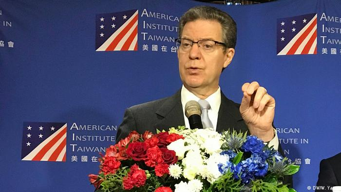 Taiwan Taipei - 2019 Indo Pacific Religious Forum: US-Botschafter-at-Large Sam Brownback (DW/W. Yang)
