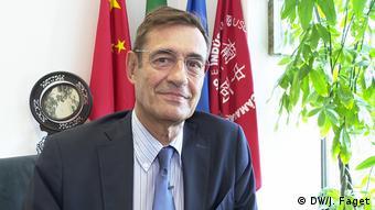 Илидио Серодио от Португалско-китайската търговска камара