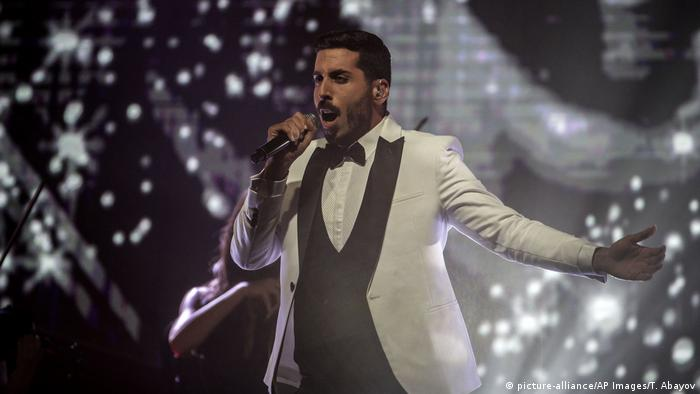 Eurovision Song Contest 2019 Kobi Marimi (picture-alliance/AP Images/T. Abayov)