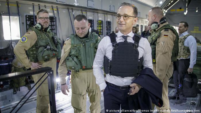 Afghanistan Heiko Maas, Außenminister Deutschland in Kabul