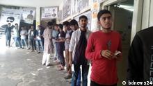 Bangladesch DUCSU Wahlen in Dhaka
