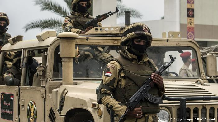 Ägypten | Militär in Sinai (Getty Images/AFP/K. Desouki)