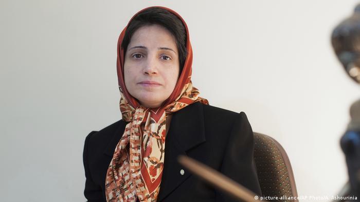 Iran Nasrin Sotudeh 2008 (picture-alliance/AP Photo/A. Ashourinia)