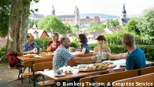 Deutschland Biergarten in Bamberg