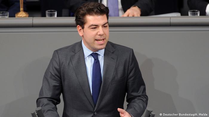 Deutschland SPD Bundestagsabgeordneter Thomas Hitschtler (Deutscher Bundestag/A. Melde)