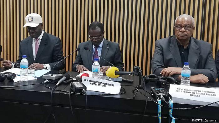 Guinea-Bissau ECOWAS gibt eine Erklärung zu den Parlamentswahlen ab