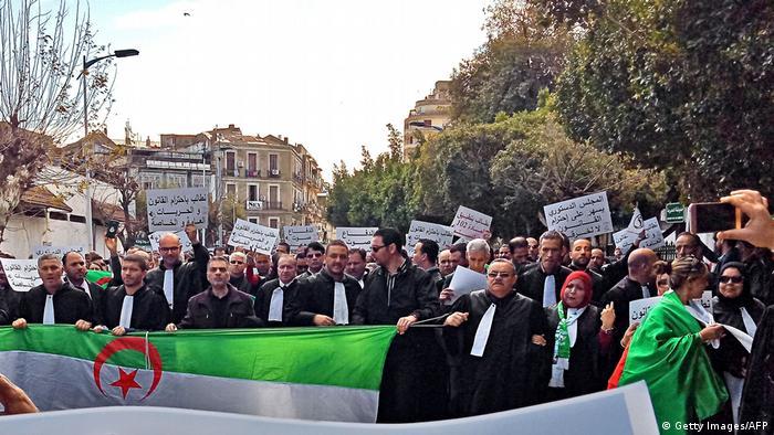 Algerien | Streik in Algier