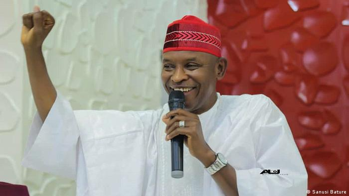 A smiling Abba Kabir Yusuf, the PDP candidate in Kano
