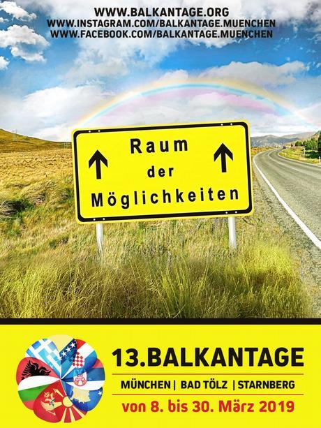 Plakat za Dane Balkana 2019. u Münchenu