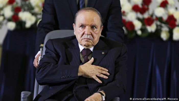 Algerien | Abdelaziz Bouteflika (picture-alliance/dpa/epa/M. Messara)