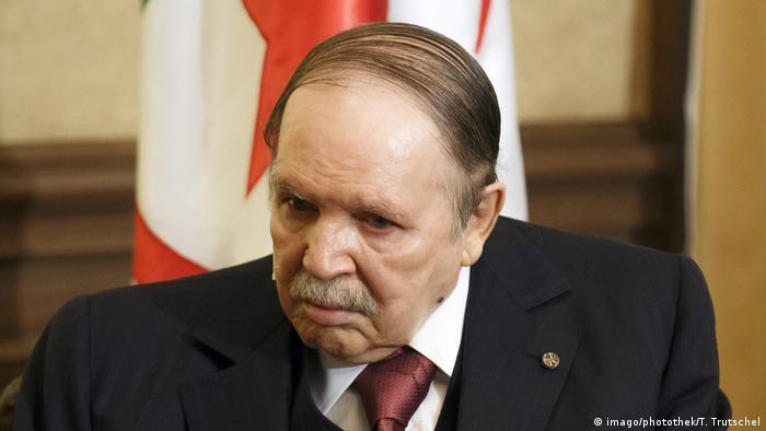 O presidente da Argélia, Abdelaziz Bouteflika
