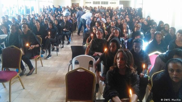 Äthiopien Trauerfeier für die Opfer des Absturzes der Boeing 737