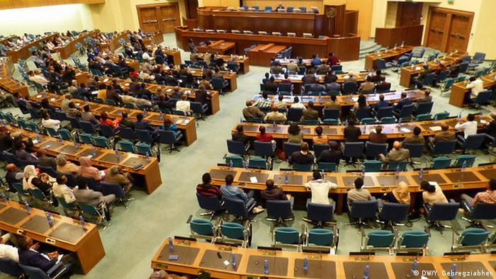 Äthiopien Diskussion Medien und Demokratie in Addis Abeba (DW/Y. Gebregziabher)
