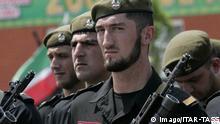 Tschetschenien Symbolbild Sicherheitskräfte