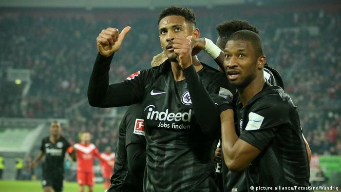 Deutschland | Fußball Bundesliga | Fortuna Duesseldorf vs Eintracht Frankfurt 0:3 (picture alliance/Fotostand/Wundrig)