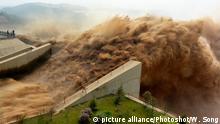 China Umwelt l Xiaolangdi-Talsperre l Staudamm Luoyang