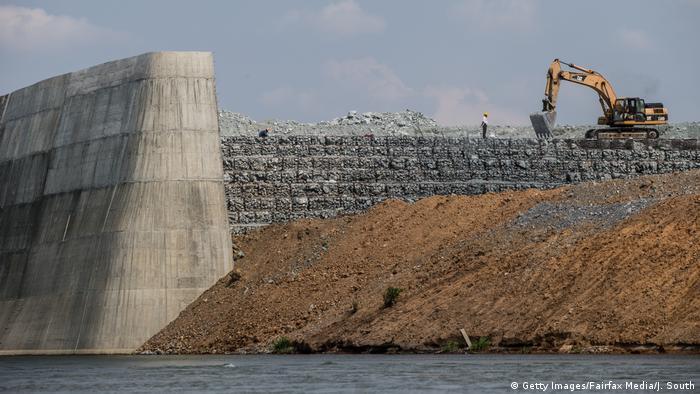 Kambodscha Umwelt l Stung Treng Damm l Staudamm (Getty Images/Fairfax Media/J. South)
