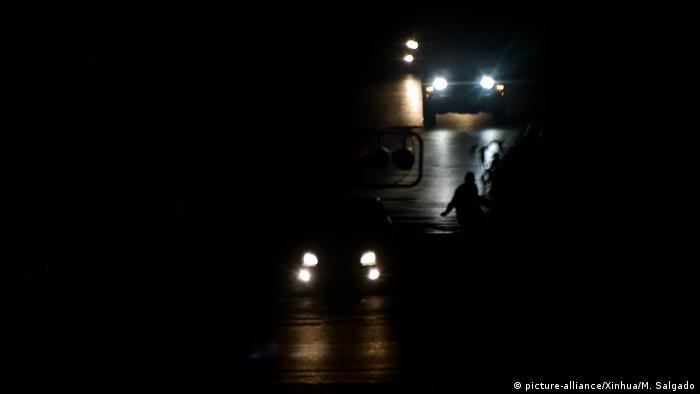Venezuela Krise l Stromausfall