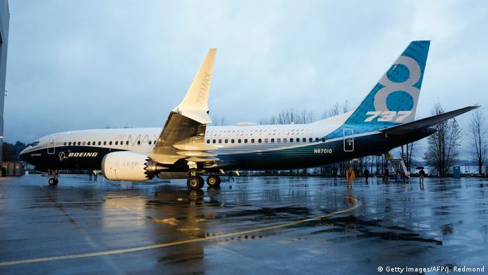 Boeing 737 MAX 8 (Getty Images/AFP/J. Redmond)