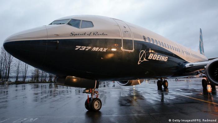 Boeing 737 MAX 8 в городе Рентон в штате Вашингтон