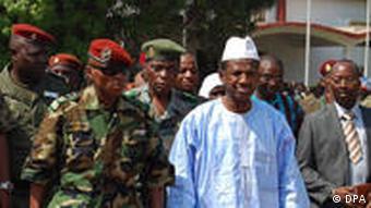 Guineas Junta-Chef Camara mit seinem Premierminister Kabine Komara in Conakry