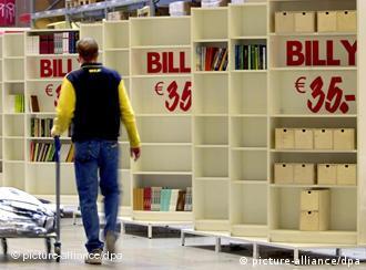 A Ikea foi acusada de utilizar trabalho forçado na então Alemanha Oriental