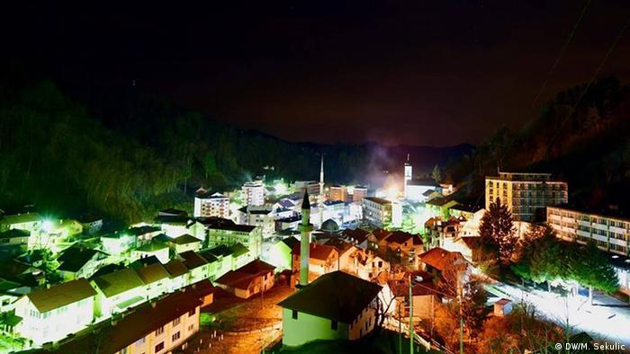 Bosnien und Herzegowina   Stadtansicht Srebrenica