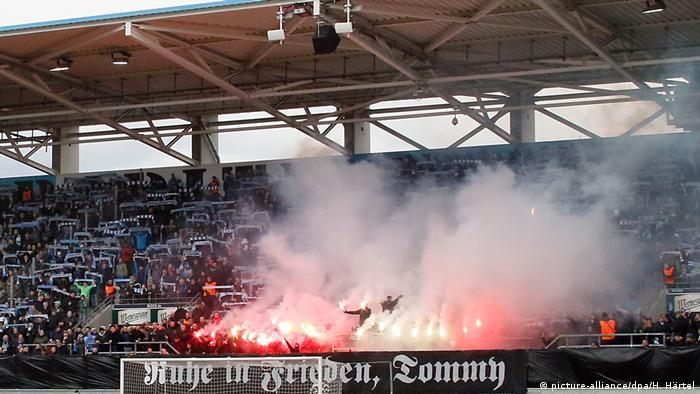 Incident navijača Chemnitza u sezoni 2019.