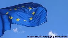 Frankreich, Straßburg | Europäisches Parlament & EU-Flagge