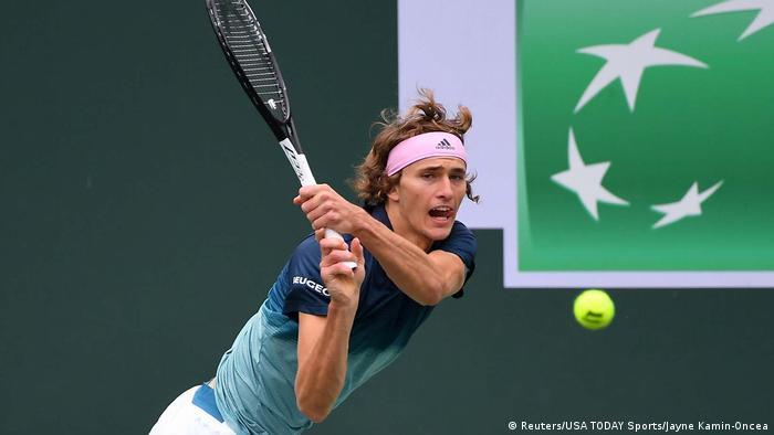 USA Tennis BNP Paribas Open Alexander Zverev vs Jan-Lennard Struff (Reuters/USA TODAY Sports/Jayne Kamin-Oncea)