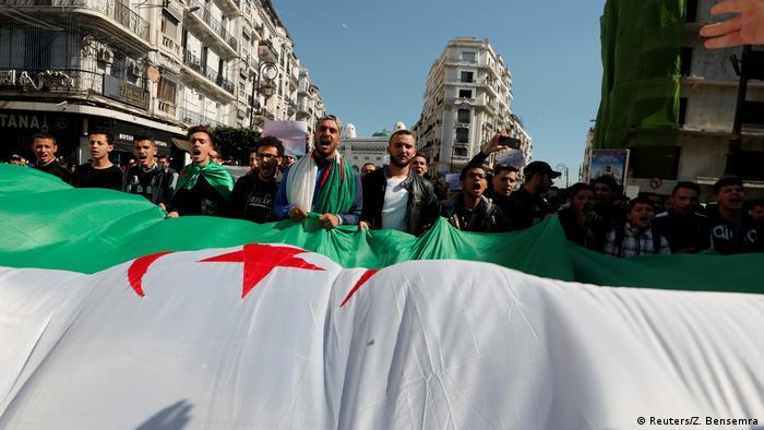 Algerien Proteste in Algier