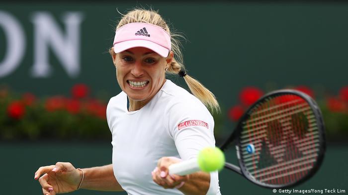 USA Tennis BNP Paribas Open Angelique Kerber vs Natalia Vikhlyantseva (Getty Images/Yong Teck Lim)