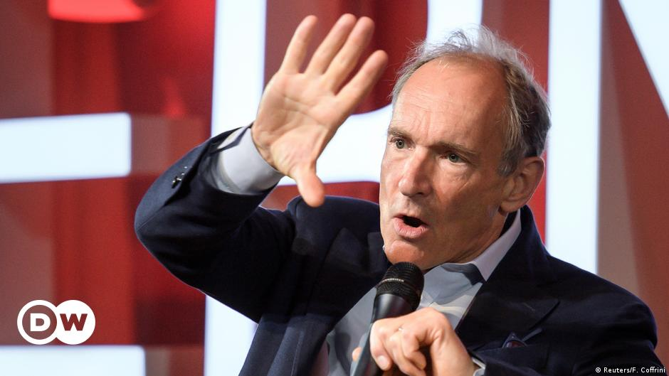Web inventor Tim Berners-Lee unveils plan to save the internet | DW | 25.11.2019