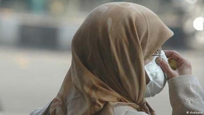 Iran schlechte Luft und Gestank in Teheran (shafaqna)