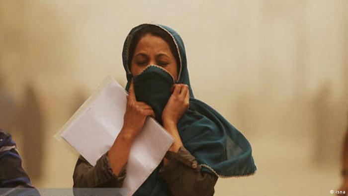 Iran schlechte Luft und Gestank in Teheran (isna)
