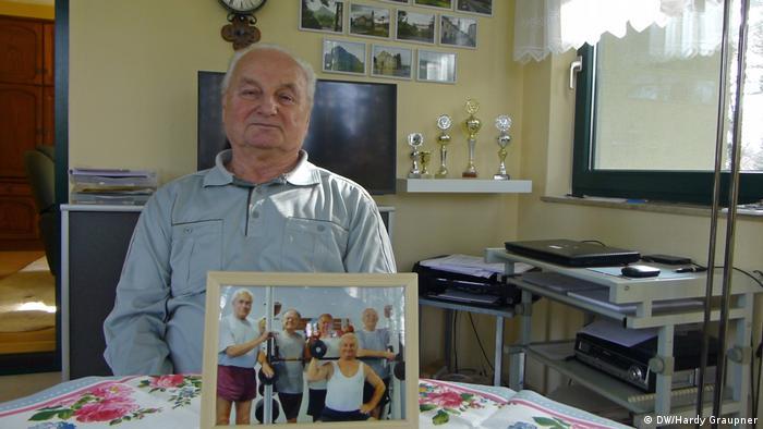 Erwin Mattauch,head of a charity for the elderly in Eggersdorf near Berlin