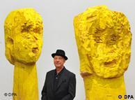 Георг Базелиц и его скульптуры