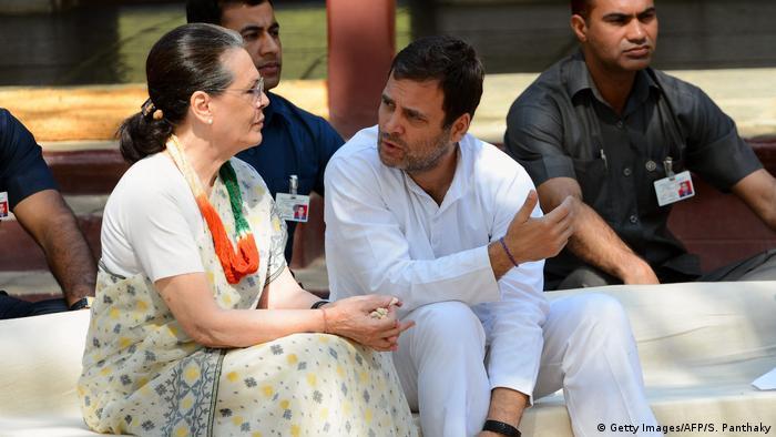 Indien Gandhi Ashram in Ahmedabad   Rahul Gandhi & Sonia Gandhi