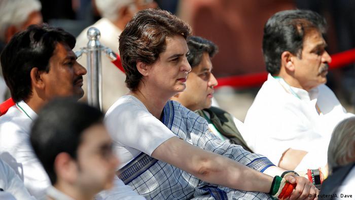 Indien Gandhi Ashram in Ahmedabad   Priyanka Gandhi Vadra, Opposition (Reuters/A. Dave)