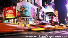 USA Verkehr auf der 42nd Street in New York