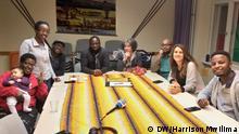 Kiswahili radio feature on Kiswahili Stammtisch (DW/Harrison Mwilima)