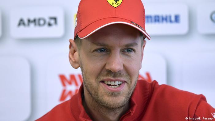 e9f831182fea2 Sebastian Vettel F1 Team Scuderia Ferrari in Barcelona Circuit 2019  (Imago L. Perenyi