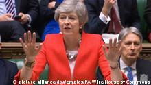 Großbritanien | Theresa May spricht im Unterhaus | Brexit | London
