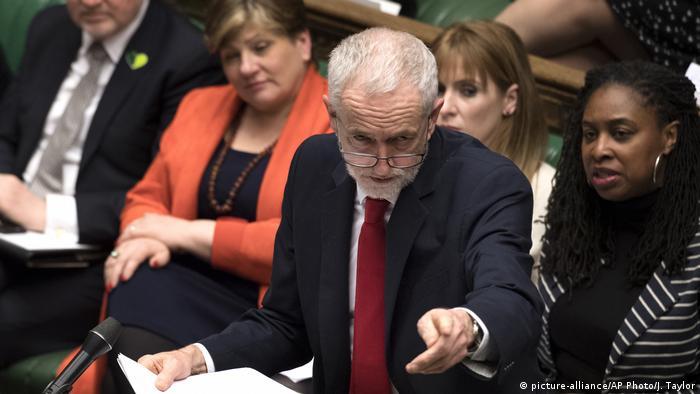 Großbritanien | Jeremy Corbyn spricht im Unterhaus | Brexit | London