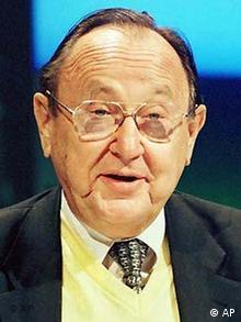 Portrait des ehemaligen Aussenministers Hans-Dietrich Genscher.(Foto:ap)