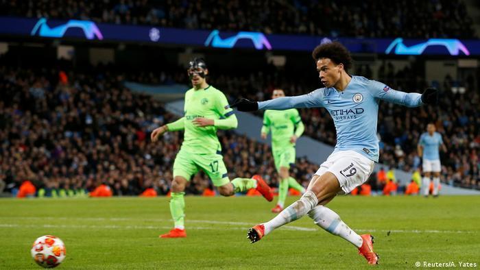Fußball Champions League | FC Schalke 04 - Manchester City | 3:0 Tor