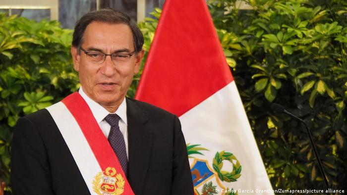 Peru Regierung l Neues Kabinett l Präsident Martin Vizcarra (picture-alliance/Zumapress/C. G. Granthon)
