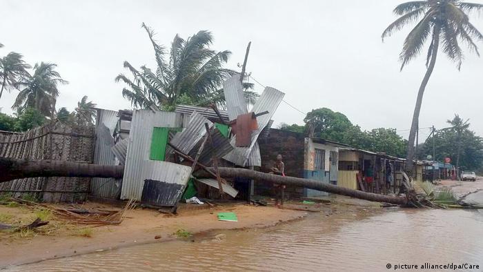 Província de Inhambane foi atingida em 2017 pelo ciclone Dineo (foto de arquivo)