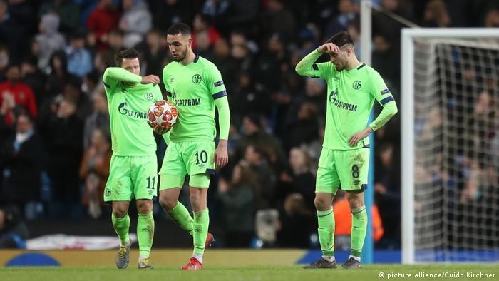 Fußball Champions League | FC Schalke 04 - Manchester City l 0:7 Niederlage