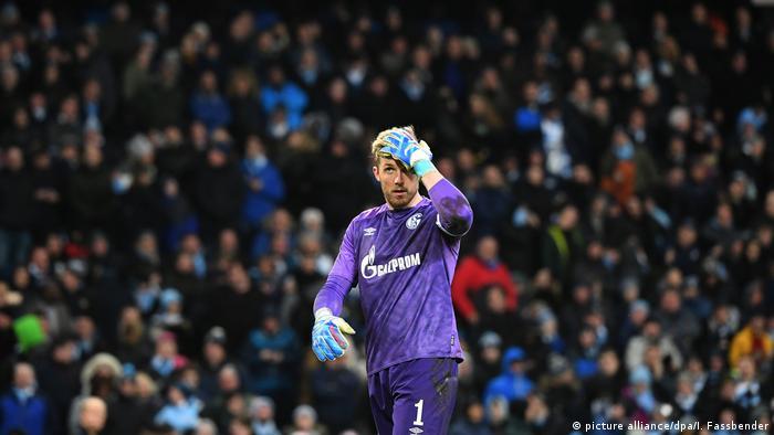 Fußball Champions League | FC Schalke 04 - Manchester City l 0:7 Niederlage (picture alliance/dpa/I. Fassbender)